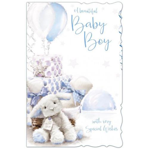 PK6 BIRTH BOY MALE  BIRTH C75 CARDS  ,NETT (297)