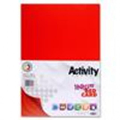160gsm A4 red card