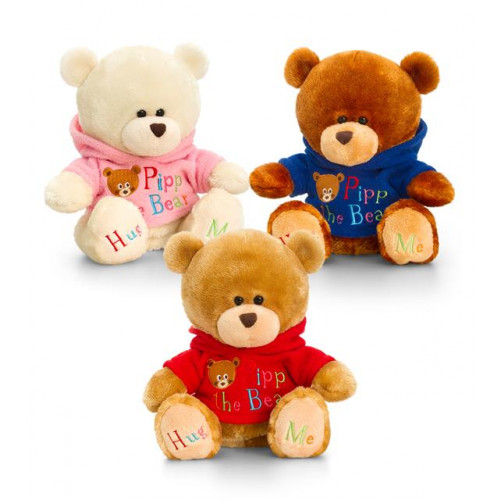 20Cm Pipp The Bear With Hoody