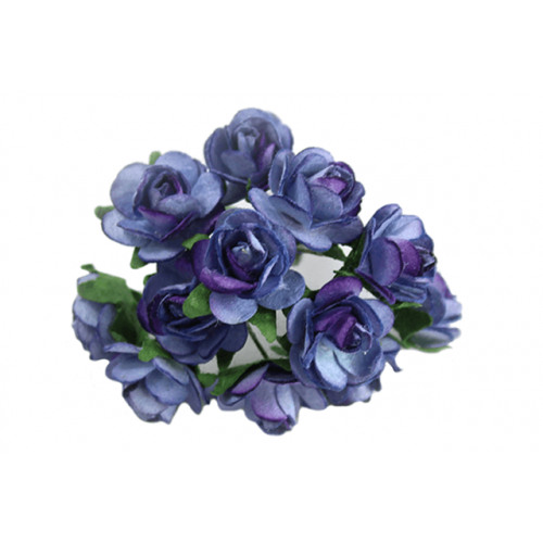 Paper Tea Rose Bunches Hyacinth