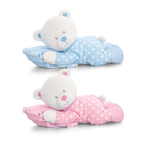 25Cm Baby Bear On Pillow