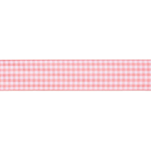 15Mmx20M Gingham Ribbon