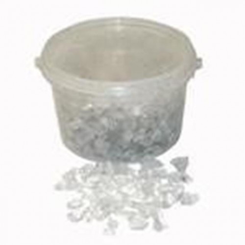 10-20Mm 3.5Kg Clear Glass Stones In Bucket