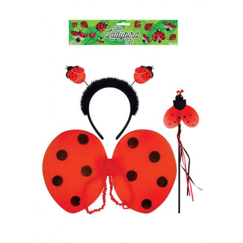 DRESS UP CHILD LADYBIRD SET 3 PC