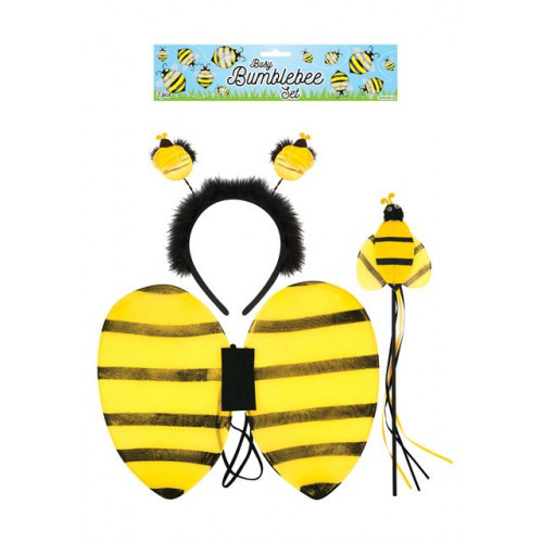 DRESS UP CHILD BUMBLEBEE SET 3 PC
