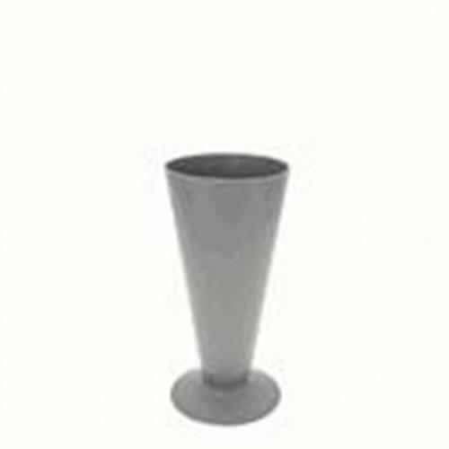 Silver Plastic Vase Size 3