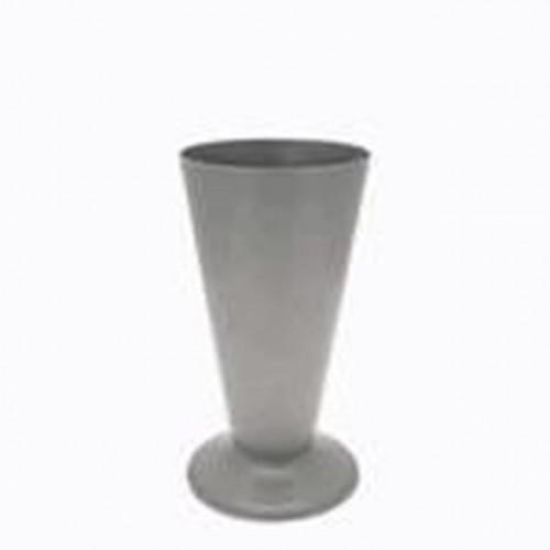 Plastic Silver Vase Size 5