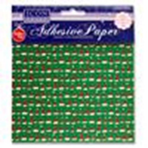 Adhesive paper festive