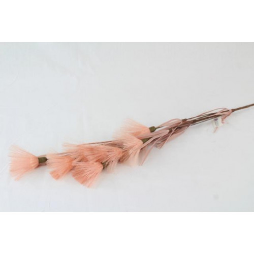 Artificial Feather Spray Vintage Pink