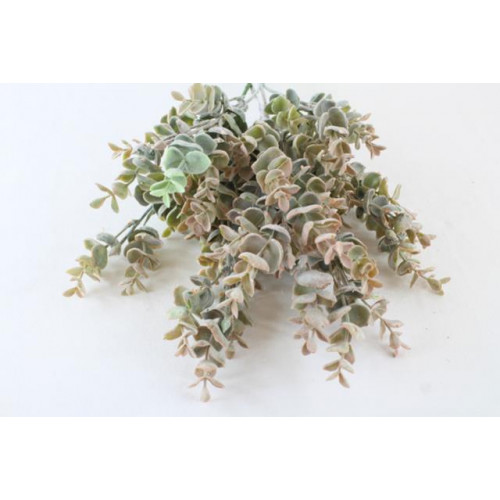 63Cm Frosted Eucalyptus Spray