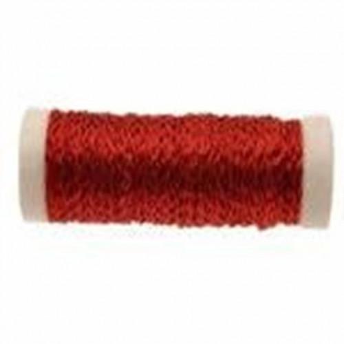 Red Bullion Wire 25G