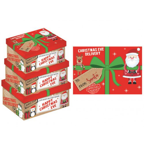 3pc Oblong Box Eve Gift