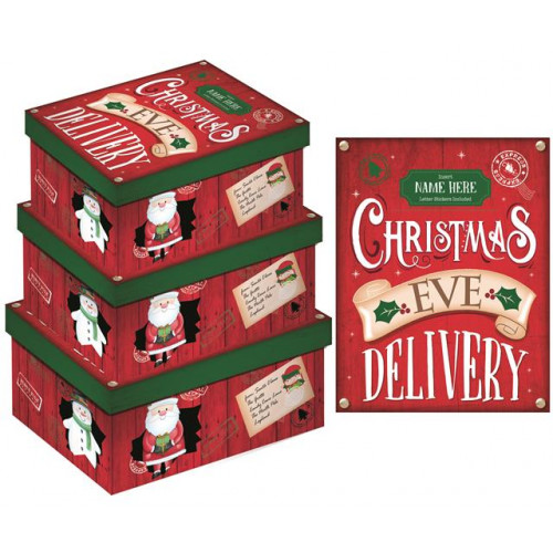 Set Of 3 Boxes