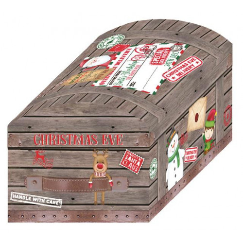 3PC TOY CHEST CUTE XMAS EVE