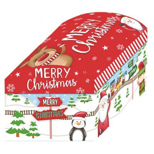 5pc Toy Chest Santa Train