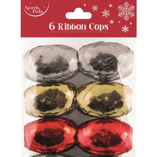 6PK RIBBON COPS MIXED PCK 12
