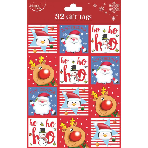 32 Gift Tags