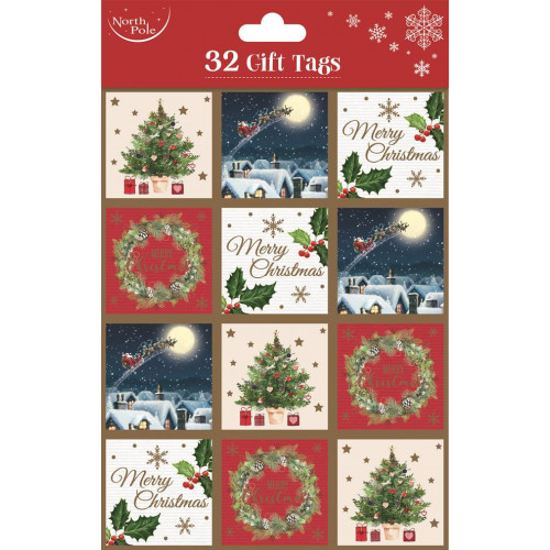 32 pck Gift Tags