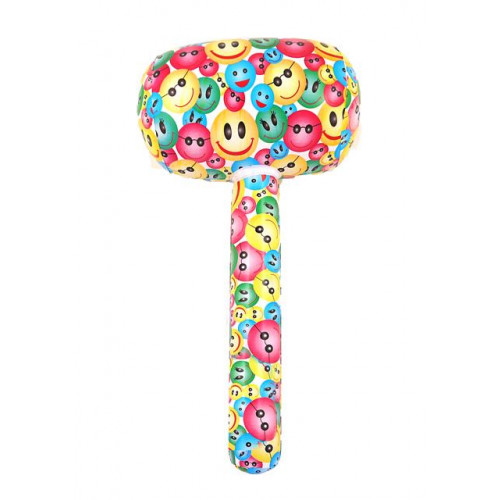 INFLATABLE MALLET SMILE 66CM