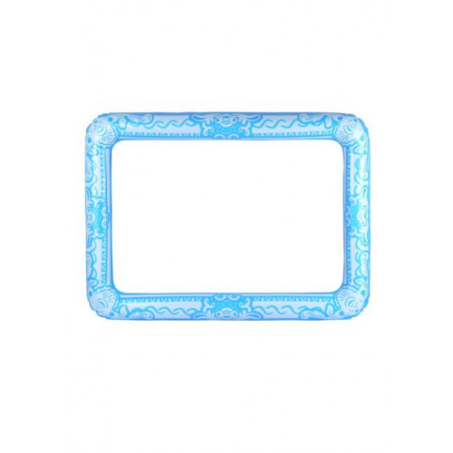 INFLATABLE PICTURE FRAME BLUE 60 X 80 CM
