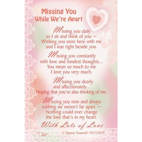 Missing You C25 Pk6