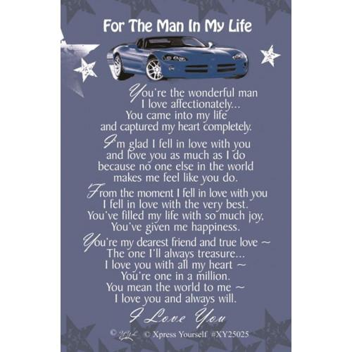 Man In My Life C25 Pk6
