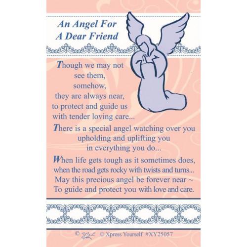W/CARD ANGEL A FREIND ,NETT