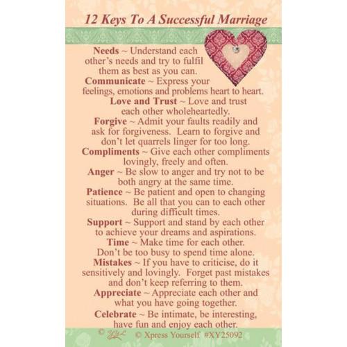 Marriage C25 Pk6