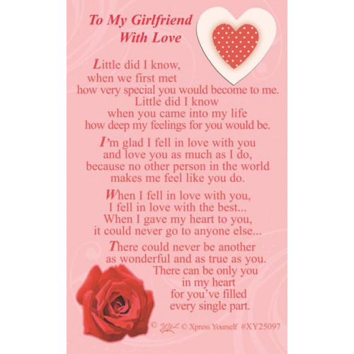 W/CARD TO THE WOMAN ,NETT