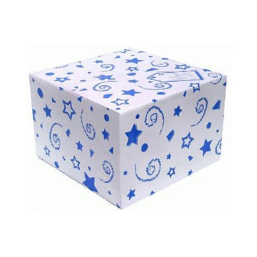 BALLOON BOX BLUE (370 X 370 X 245MM)