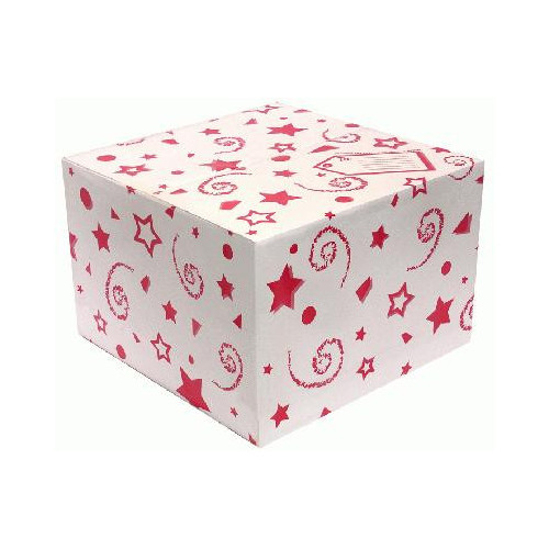 BALLOON BOX RED (370 X 370 X 245MM)