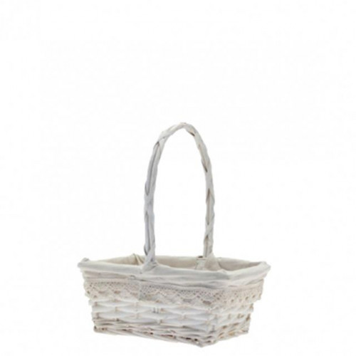 Rectangular Victoria Basket With Handle 22Cm