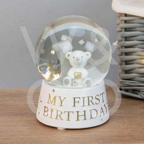 Bambino Resin My 1st Birthday Water Ball