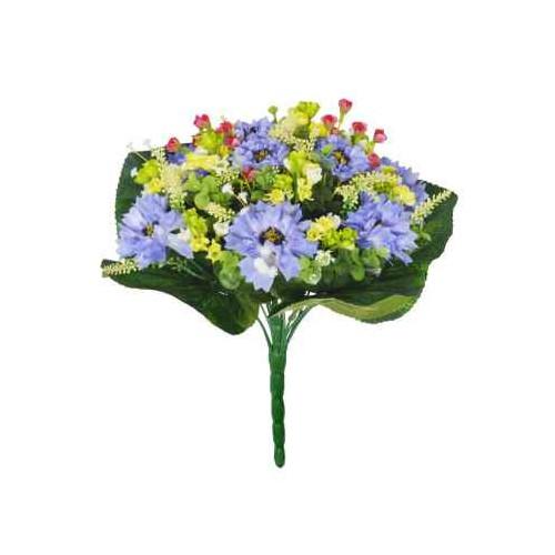 32Cm Cornflower Bouquet