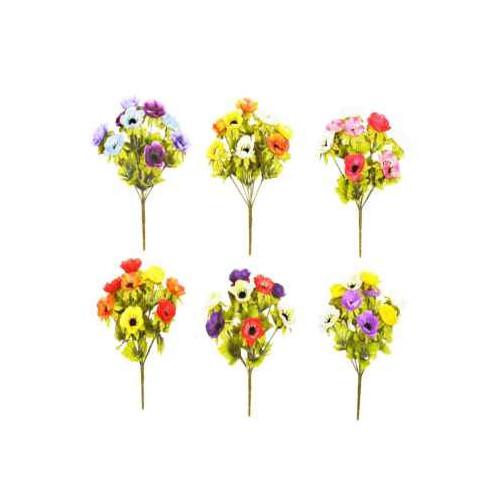 25Cm Anemone Bouquet