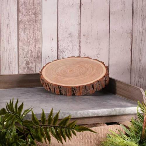 20 To 24Cm (X3Cm) Wood Slice